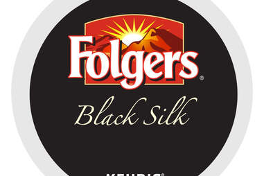 Keurig K Cup Folgers Black Silk kcup coffee ranking thrillist