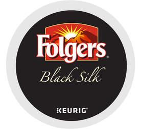 Keurig K Cup Folgers Black Silk