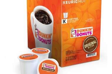 Keurig Dunkin' Donuts K Cups original blend kcups dunkins