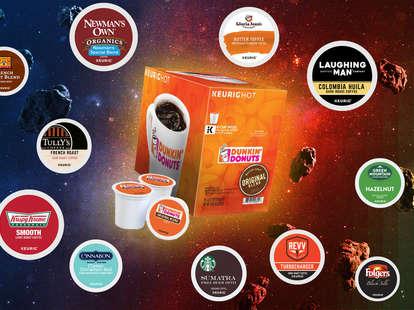 keurig k-cups coffee expert ranking rankings drink coffees kcups dunkin krispy kreme cinnabon newmans own flavors flavor