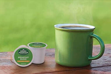 Green Mountain Coffee Breakfast Blend k cup kcup coffees thrillist ranking keurig