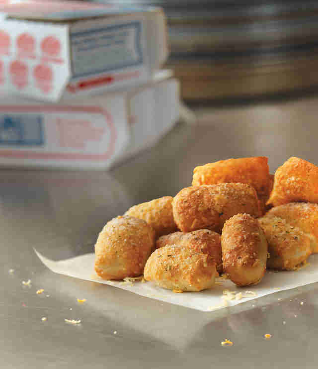 Dominos parmesan bread bites