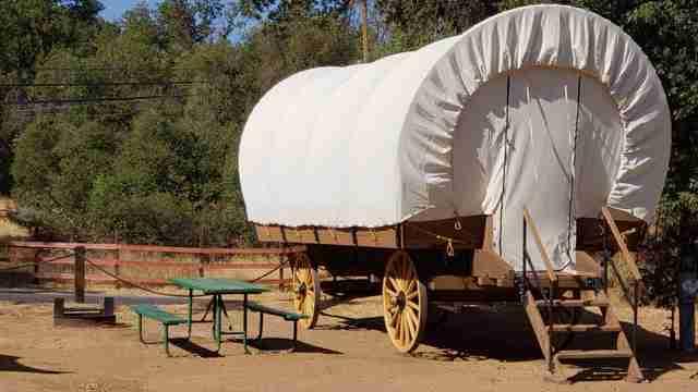 Yosemite Pines Resort Debuts Covered Wagon Cabins For