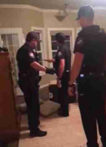 Local police removing wild coyote from Moriarty's bedroom