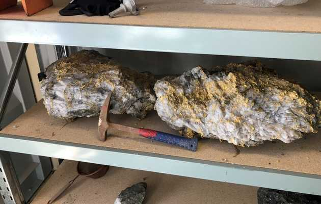 Two, Enormous Gold-Speckled Rocks Worth $13 Million Were Just Discovered in Australia