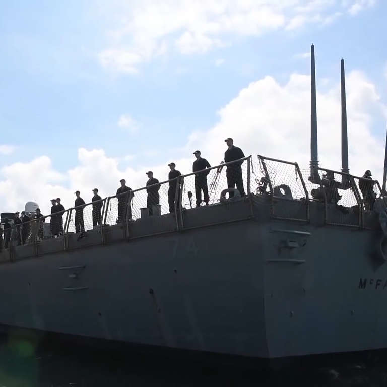 U S  Navy Prepares for Hurricane Florence By Sending Ships