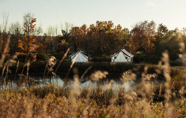The Most Scenic Drives to NYC's Best Autumn Camping Spots