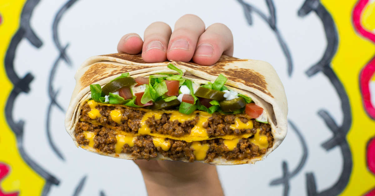Taco Bell's Enormous 'Triple Double' Crunchwraps Are Back, Along With a New Version