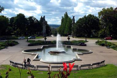Highland Park Fountain, Pittsburgh