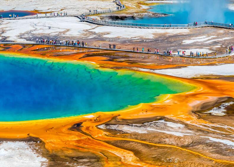Yellowstone's Grand Prismatic