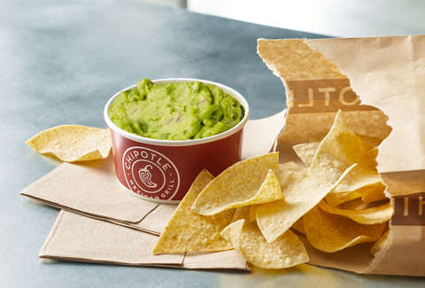 chipotle new large guacamole side