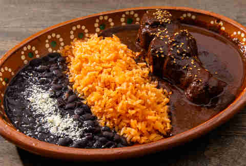 mole chicken