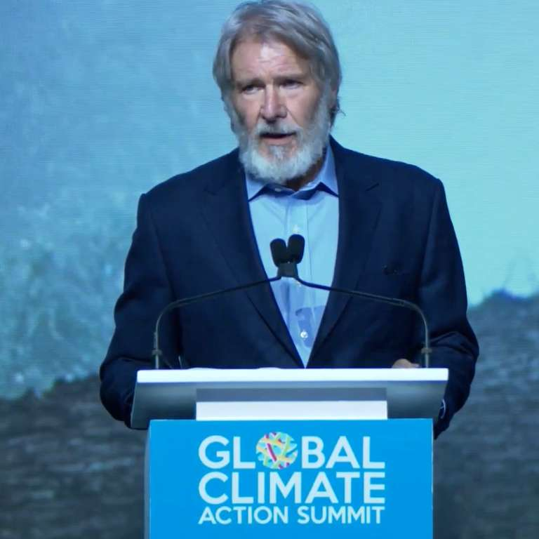 Harrison Ford Urges America To Do More To Address Climate Change