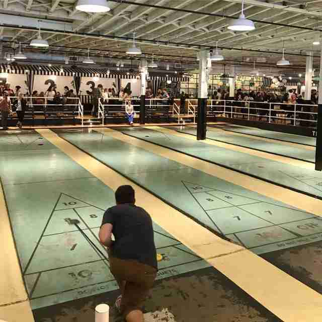 The Royal Palms Shuffleboard Club Chicago