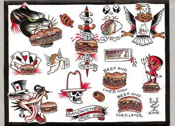 arby's tattoos