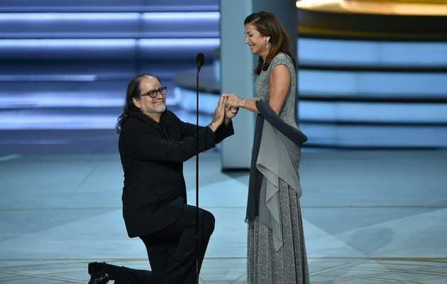 The Director of the Oscars Proposed to His Girlfriend During the Emmys