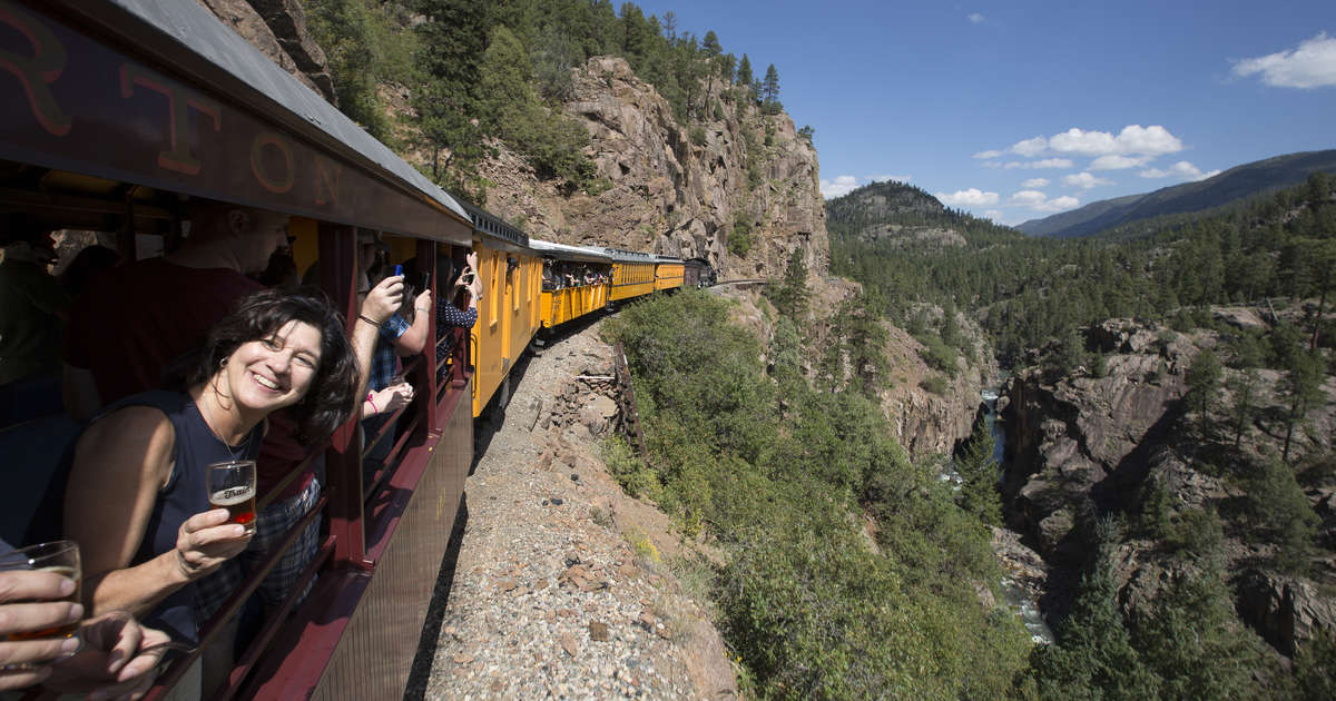 This Beer Train Takes You Into the Mountains on a Day-Long Beer Adventure