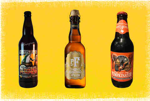 Hoppin' Frog, Pfriem, and Pumpkinator