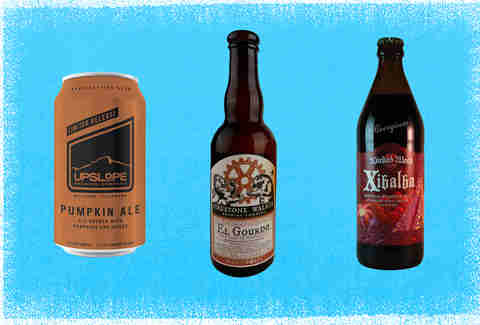 Upslope, Firestone-Walker, and Wicked Weed Pumpkin Beers