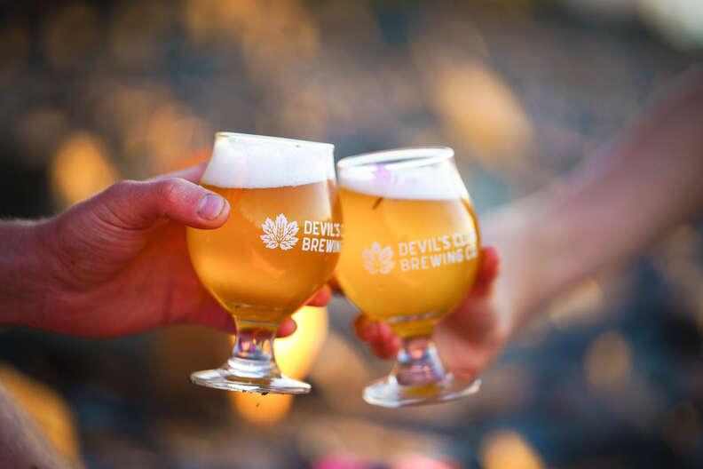 Beers from Devil's Club Brewing, Alaska
