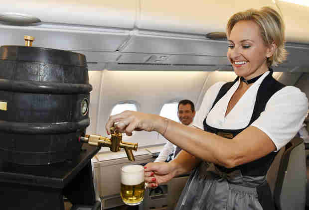 This Airline Is Serving Beer on Planes for Oktoberfest