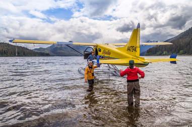 seaplane near Juneau, Alaska