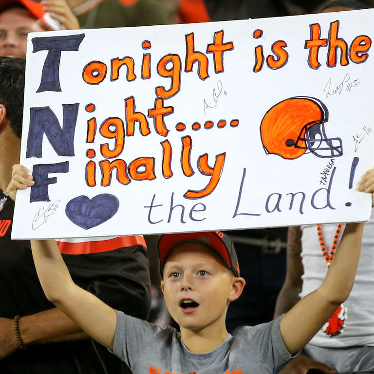 Cleveland Browns Finally Win NFL Game After Nearly 2 Years