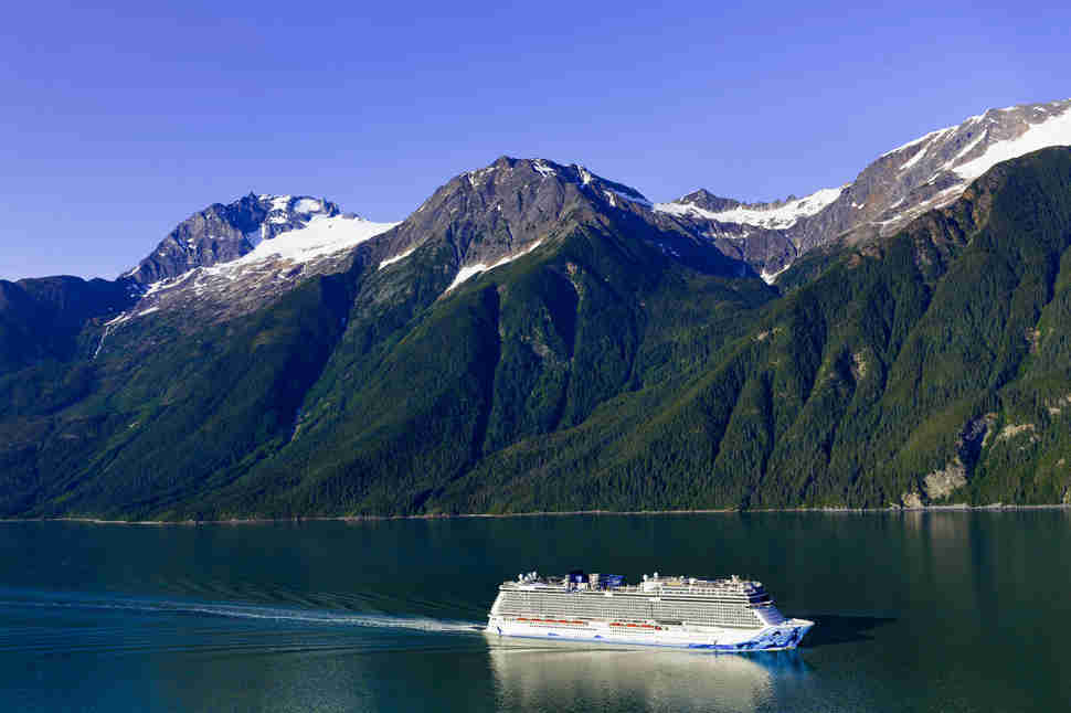Norwegian Bliss Cruise Line Alaska
