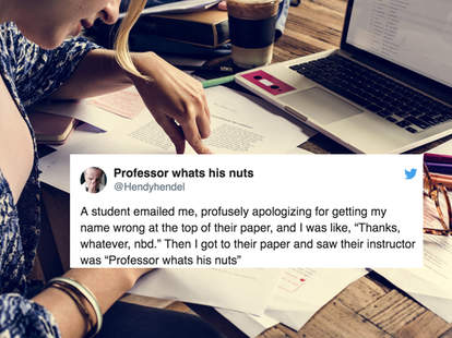 professor whats his nuts