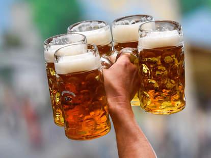 german steins oktoberfest octoberfest beer party lagers best thrillist
