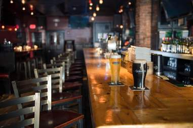 Banshee Bar Boston with Guinness and Heineken