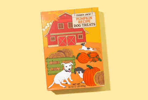 Trader Joe's Pumpkin Dog Treats