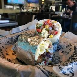 Illegal Pete's burrito