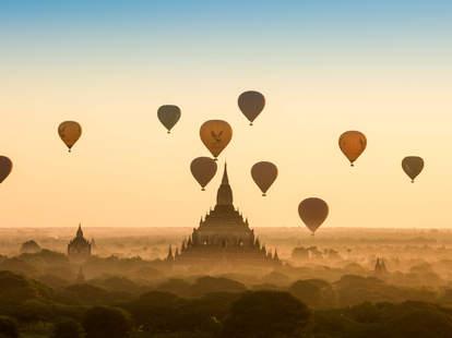 Myanmar Hot Air Balloon Festival