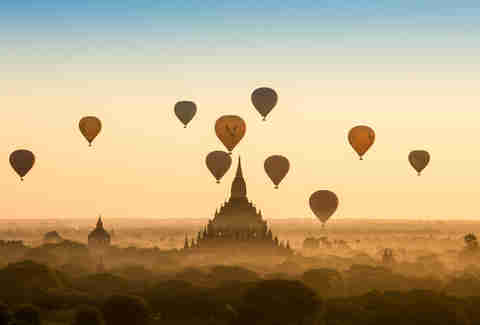 Myanmar Hot Air Balloon Festival