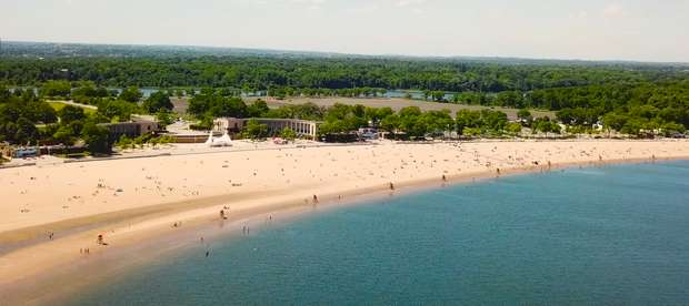 Orchard Beach Is A Piece Of The Florida Tropics Living In The Bronx