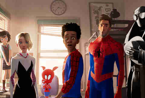 into the spiderverse