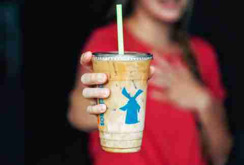 Dutch Bros secret menu, Iced Domino French Toast Americano