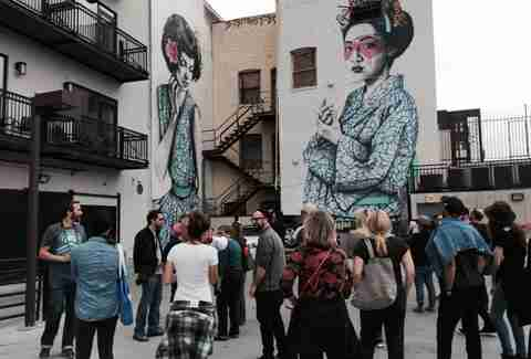 Downtown LA Art Walk