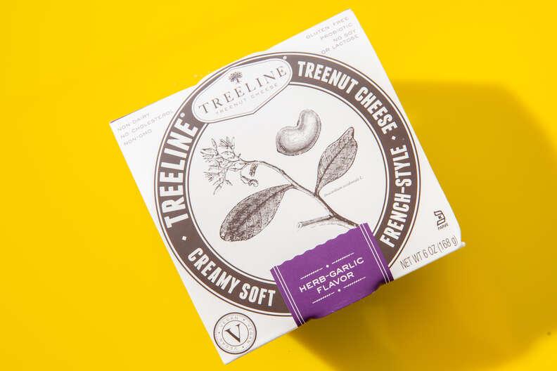 Treeline Cheese herb-garlic french-style cheese