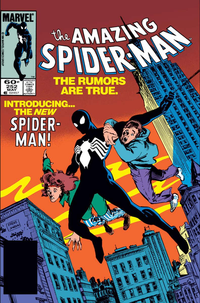 spider man venom comic