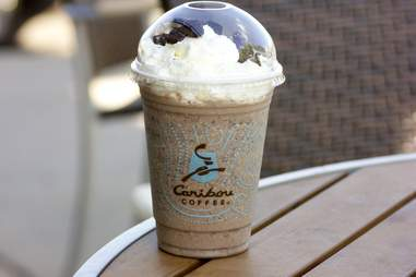 Caribou Coffee Cookies and Cream Snowdrift