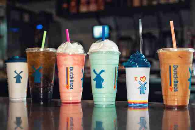 Dutch Bros drinks