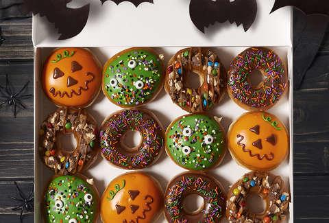 Image result for krispy kreme halloween donuts