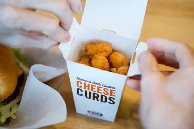 A&W Cheese curds