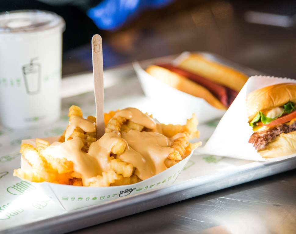 Shake Shack cheese fries