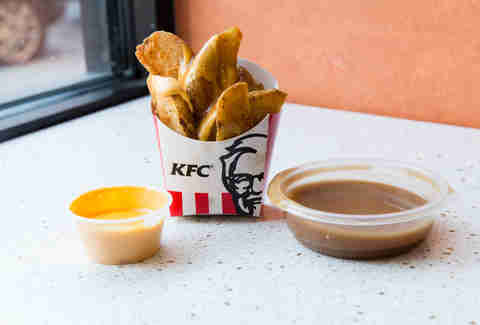 KFC Potato Wedges