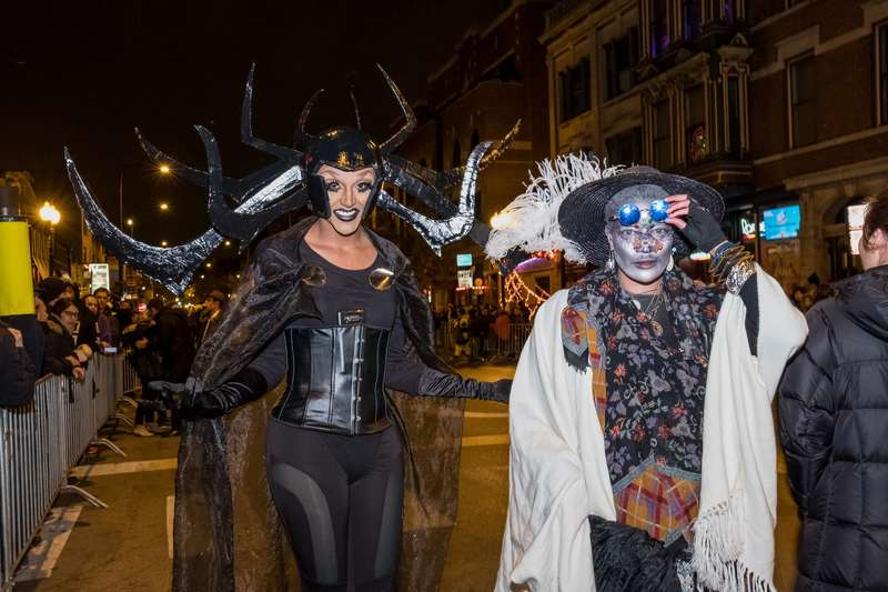 Haunted Halsted Halloween Parade