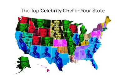 most popular celebrity chef