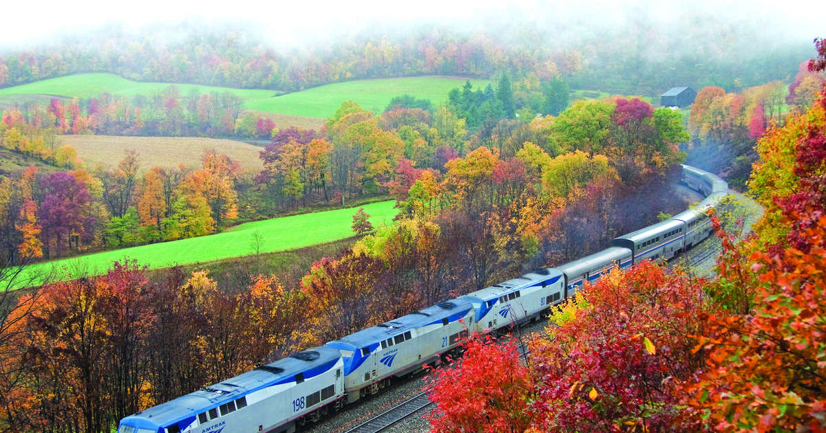 Amtrak's Huge Fall Sale Has Tickets as Low as $13